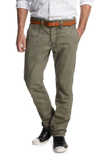 ESPRIT EDC 012CC2B003 Slim Men's Jeans Military Green W38INXL32IN
