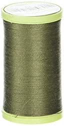 Coats Thread & Zippers Dual Duty Plus Hand Quilting Thread, 325-Yard, Bronze Green