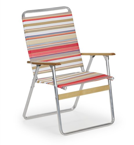 Telescope Casual Original Highback Folding Beach Arm Chair, Fiesta