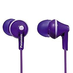Panasonic RP-HJE125E-V In-Ear Canal Insidephone for Ipod/MP3 Player (Violet)
