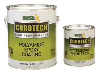 Insl X Products V400 01 2K Corotech Poly Amide Epoxy Coating Gloss Tintable White