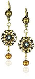 "Sorrelli ""Tapestry"" Crystal Filigree Dangle Earrings"