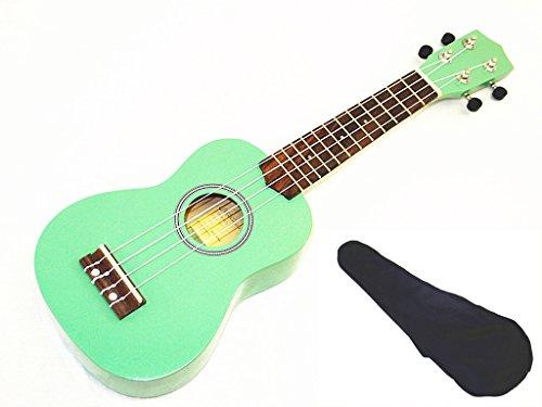 woodnote green 21 soprano ukulele with rosewood fingerboard and bridge. Black Bedroom Furniture Sets. Home Design Ideas
