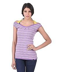 Juelle Women's Blended Purple Top