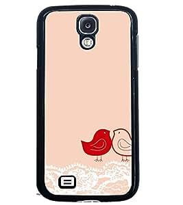 PRINTSWAG LOVE BIRDS Designer Back Cover Case for SAMSUNG GALAXY S4