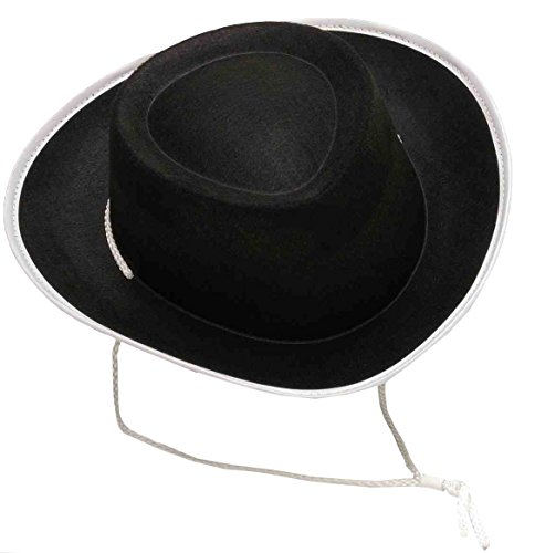 Forum Novelties Costume Accessory Child Size Cowboy Hat, Black