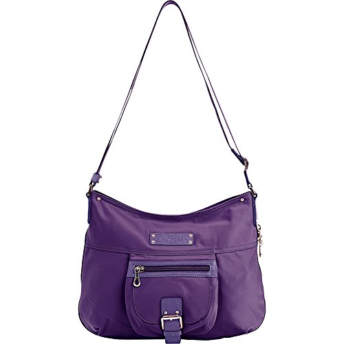 lancaster-paris-nylon-leather-traveler-violet