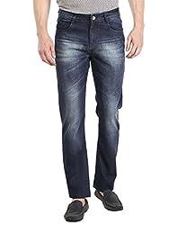 Fever Men's Jeans (60117-2-42_Blue)