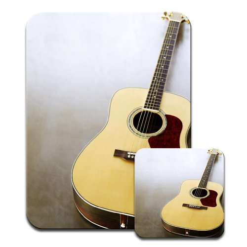 primer-plano-de-la-guitarra-acustica-de-la-tan-y-de-color-rojo-mousematt-de-primera-calidad-y-de-la-