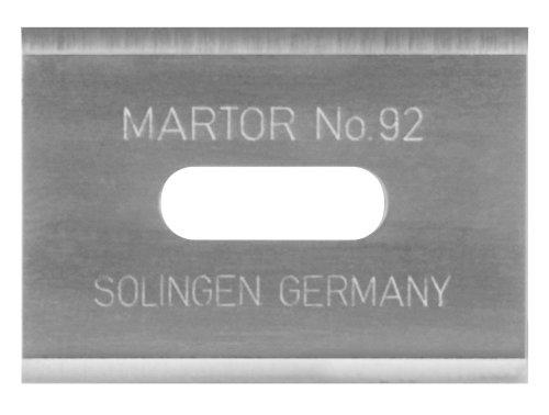 Martor 92.66 Merak/Martego Double Edged Replacement Blade (Box Of 100)