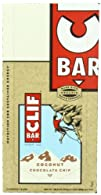 Clif Bar Coconut Chocolate Chip, 2.4…