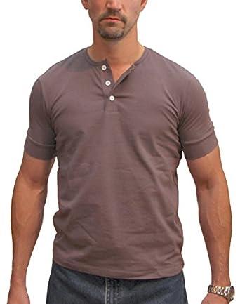 magnoli clothiers 3 button henley tee shirt at amazon men