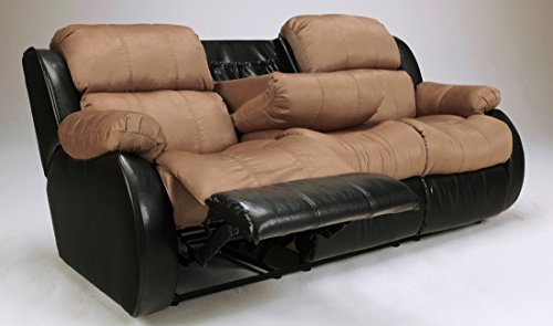 Superb Cocoa Recliner Sofa Wdrop Down Table By Famous Brand Andrewgaddart Wooden Chair Designs For Living Room Andrewgaddartcom