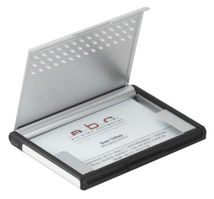 TROIKA ビジネスカードケース ミスタースローハンド 【ワンタッチオープン機能付き】 CDC95/AL