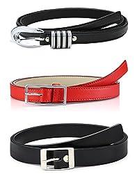 Oleva Ladies Belt combo set of 3 OVD-854