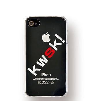 Kohaneオリジナルスマホケース iPhone4/4S対応 kwsk クリア・黒iPhone用