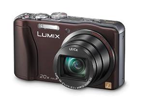 Panasonic DMC-TZ31EG-T Digitalkamera (14,1 Megapixel, 20-fach opt. Zoom, 7,5 cm (3 Zoll) Display, bildstabilisiert) chocolate