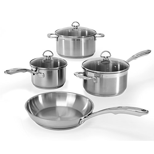 Chantal SLIN-7 Induction 21 Steel 7-Piece Cookware Set (Chantal Induction 21 compare prices)