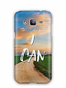 YuBingo I Can Designer Mobile Case Back Cover for Samsung Galaxy J2