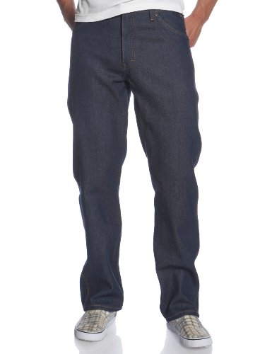 Dickies Men's Regular Fit 5-Pocket Rigid Jean, Indigo Blue, 42x34