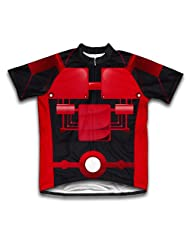 Cyber Red Short Sleeve Cycling Jersey for Women