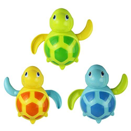 Malloom® Bambino Nuotano Giocattolo Tartarughe Piccolo Animale Bagno Giocattolo per il bagnetto