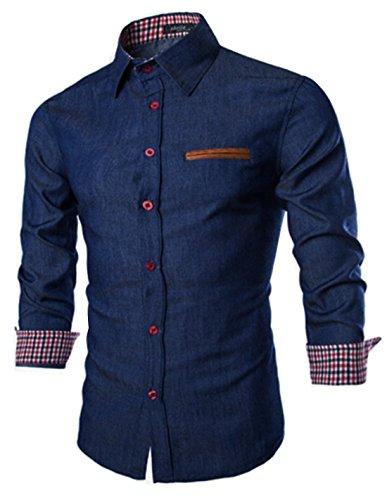 Coofandy Men's Casual Dress Shirt Button Down Shirts