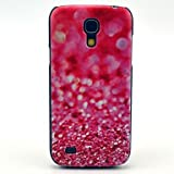 Pink Diamond Fragment Pattern Hard Back Cover Case for Samsung Galaxy S4 Mini I9190 in Multi Colour