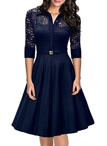 Missmay® Women's Vintage 1950s Style 3/4 Sleeve