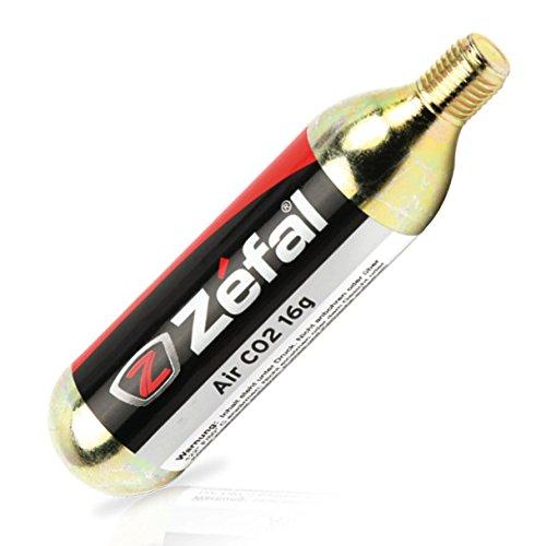 Zefal EZ Twist CO2-Kartuschen mit Gewinde - 16g - 1 Stück