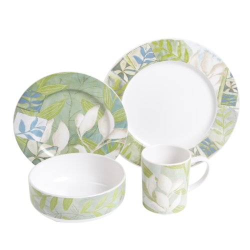 Gibson Earthly Delights Dinnerware Set, 16-Piece