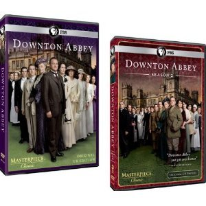 Downton Abbey Complete Seasons 1 and 2 Dvd Set