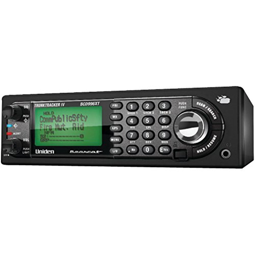 Uniden Digital Mobile Scanner with 25,000 Channels and GPS Support (BCD996XT) (Discontinued by Manufacturer)