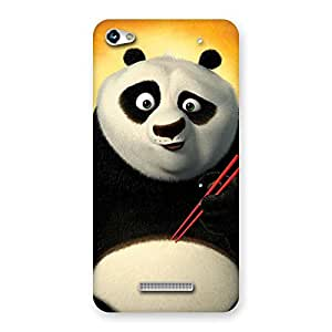 Ajay Enterprises Kuns Panda Multicolor Back Case Cover for Micromax Hue 2