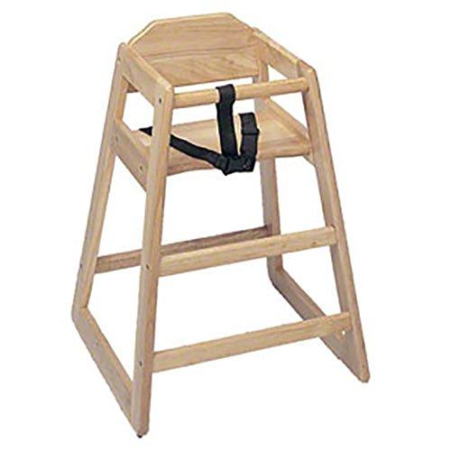 """Pinch (HIC-29N) 29"""" Natural Wood High Chair - 1"""