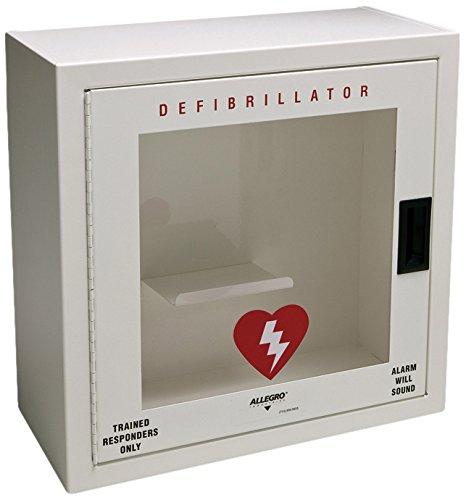 [해외]Allegro Industries 421001 금속 제세 동기 (경보, 작음, 흰색)/Allegro Industries 421001 Metal Defibrillator with Alarm, Small, White