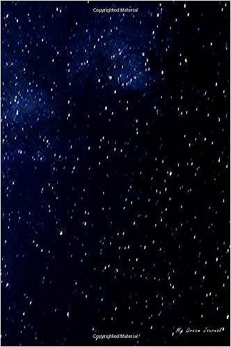 My Dream Journal: Night Sky Texture, 6 x 9, 100 Nights of Dreams Diary