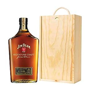 Jim beam signature craft 12 year old bourbon wiskey in for Jim beam signature craft for sale
