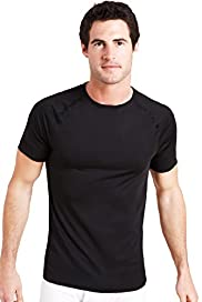Base Layer Short Sleeve Crew Neck Sports Vest