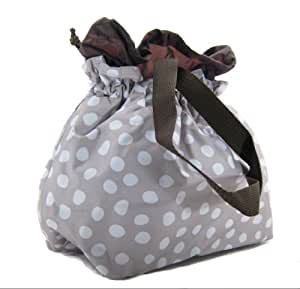 Thirty-One Cinch-It-Up Thermal Tote Lotsa Dots