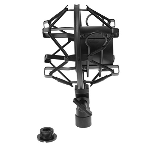 Universal Microphone Shock Mount Shockmount Holder Clip Noise Reduction For Condenser Mic Recording Radio Broadcasting Studio