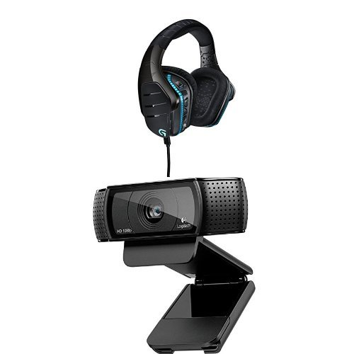 Logitech Cuffia G633 + Logitech Webcam HD Pro C920