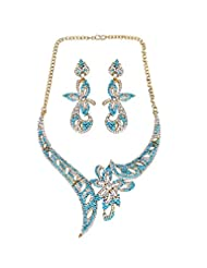Jawahraat Heavy Necklace Set In Contemporary Design