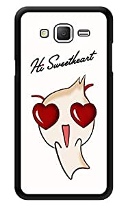 """Humor Gang Hi Sweetheart Cartoon Printed Designer Mobile Back Cover For """"Samsung Galaxy Grand 2"""" (3D, Glossy, Premium Quality Snap On Case)"""