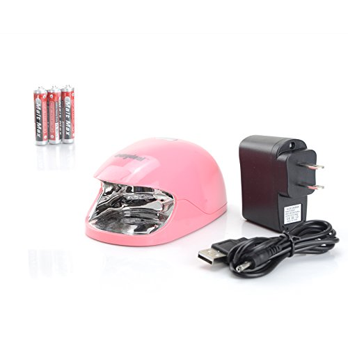 Sunydeal Pink 3W LED UV Gel Lamp Light Manicure Nail Dryer with