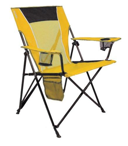 Kijaro Dual Lock Folding Chair Haleakala Sunrise Yellow