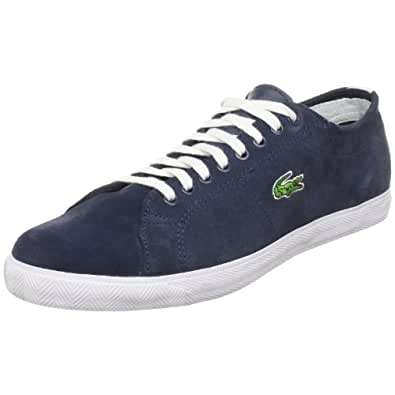 Lacoste Men's Marcel L Sneaker,Dark Blue/White,7.5 M US