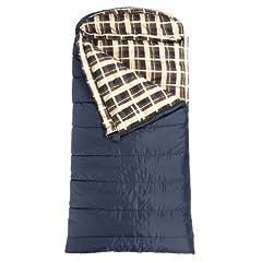TETON Sports Celsius XL -18 Degree C 0 Degree F Flannel Lined Sleeping Bag (90x 36) by Teton Sports