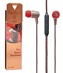 Signature VM- 57 Champ Series High Quality Bass HandsFree Earphone For panasonic t45 4g