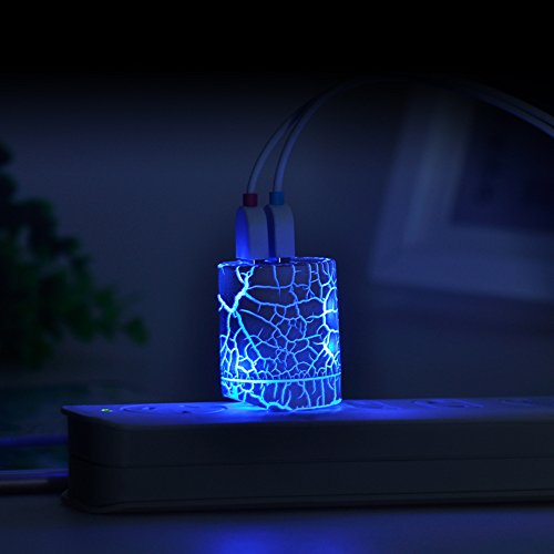 Led Glow Usb Wall Charger